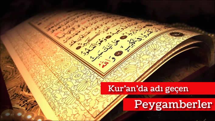 Photo of Kur'an'da adı geçen Peygamberler
