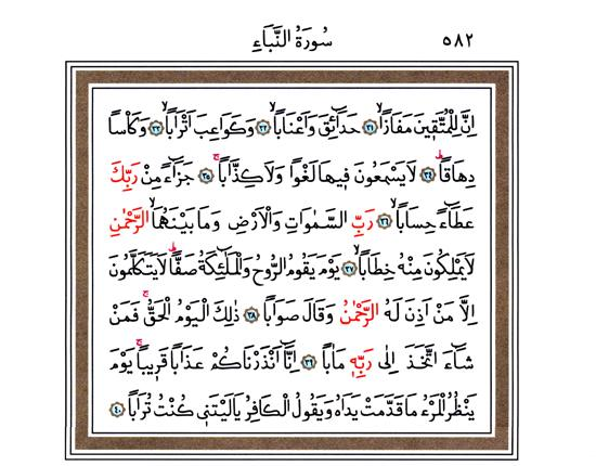 Amme (Nebe) Suresi 31 – 40 Ayetleri