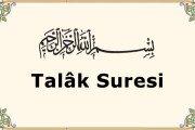 Talâk Suresi