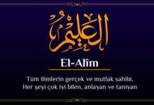 Photo of El-Alîm Esmasının Anlamı, Zikri ve Fazileti