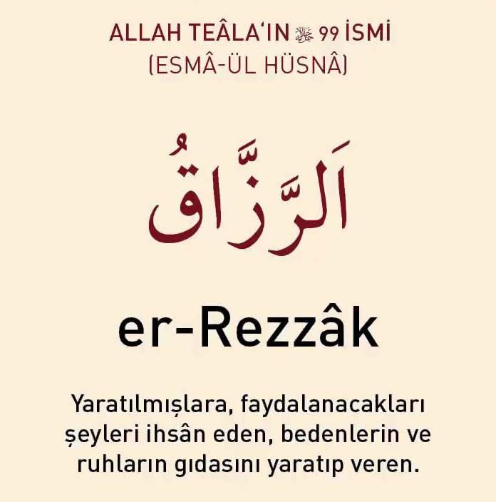 er-rezzak_anlamı_
