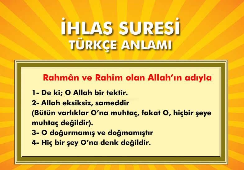 ihlas_suresi_turkçe_anlami
