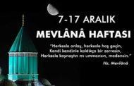 2017 Mevlana Haftası - Şeb-i Arus Töreni Ne Zaman Kutlanır?