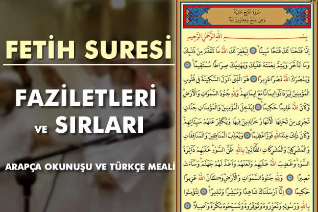 Photo of Fetih Suresi Anlamı ve Fazileti ve Sırları