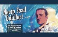Necip Fazıl Ödülleri 2017 açıklandı