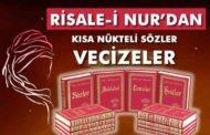 Risale-i Nur'dan Vecizeler - Kısa Nükteler, Anlamlı Sözler