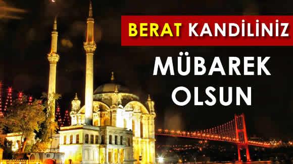 Photo of Mübarek Berat Kandili yarın idrak edilecek.