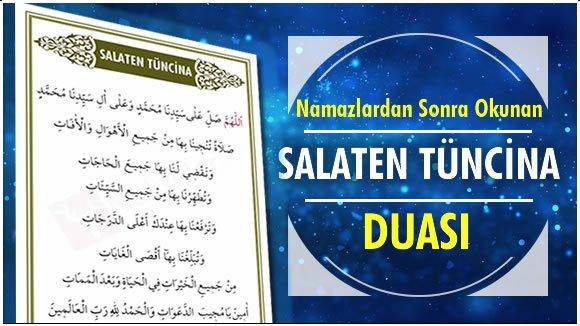 Salaten Tüncina Duası, Anlamı ve Faziletleri – Arapça ve Türkçe Okunuşu