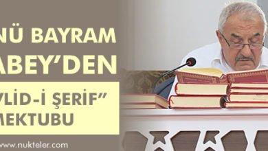 "Photo of Hüsnü Bayram Ağabey'den ""Mevlid-i Şerif"" Mektubu"