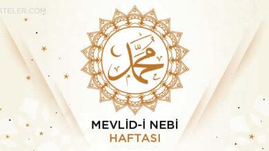 Photo of Mevlid-i Nebi Haftası Ne Zaman?