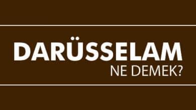 Photo of Darüsselam Ne Demek? Osmanlı'da Darüsselam Şehirler