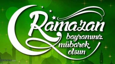 Photo of Ramazan Bayramı tebrik mesajları, sözleri