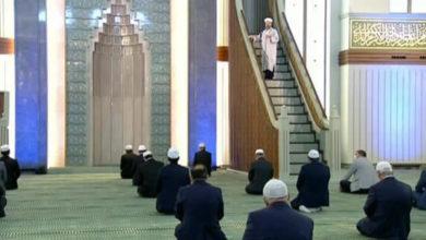 Photo of Türkiye'de sadece Millet Camisi'nde cuma namazı kılındı