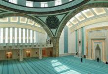 Photo of 3 Nisan Cuma Namazı Ahmet Hamdi Akseki Camii'nde kılındı