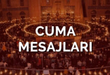 Photo of 25 Eylül 2020 Kısa ve Özlü Cuma Mesajları